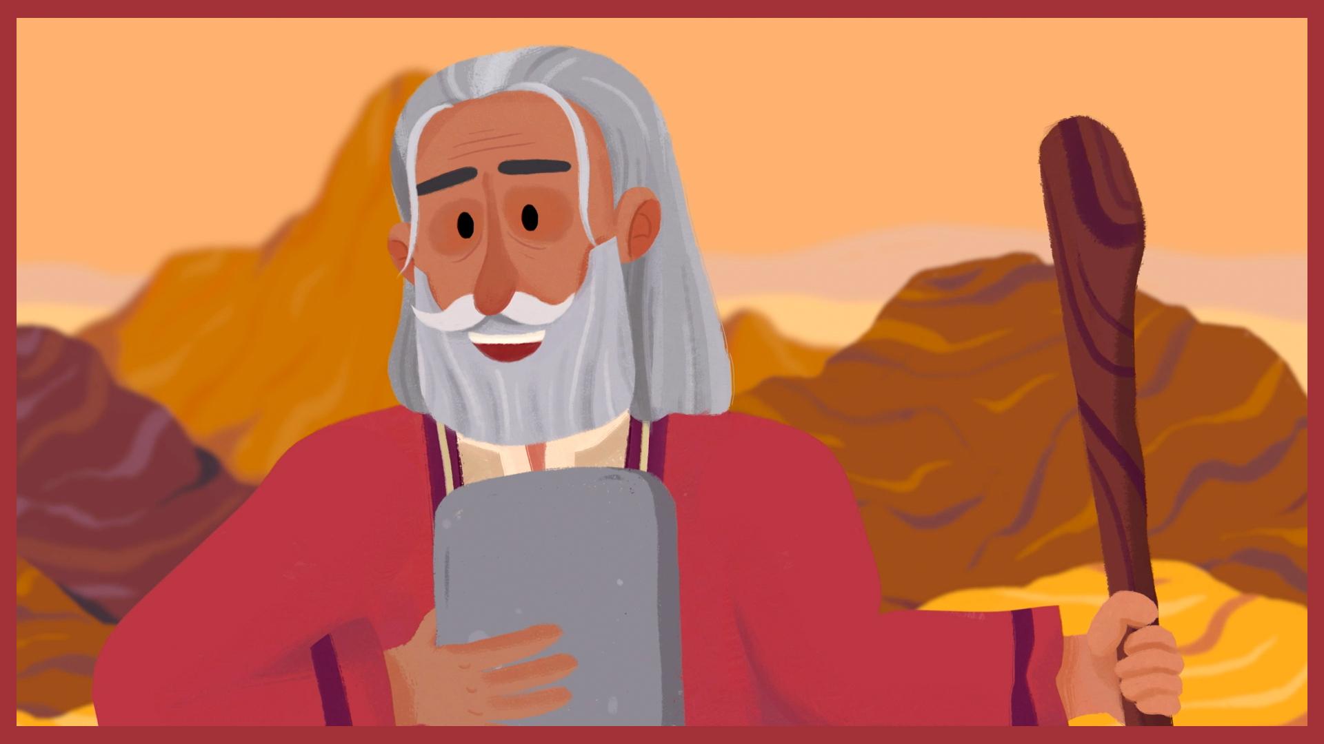 Moses and the 10 Commandments - Vlog #1 - BBC Teach